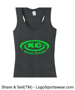 District Womens Perfect Tri™ Racerback Tank Design Zoom
